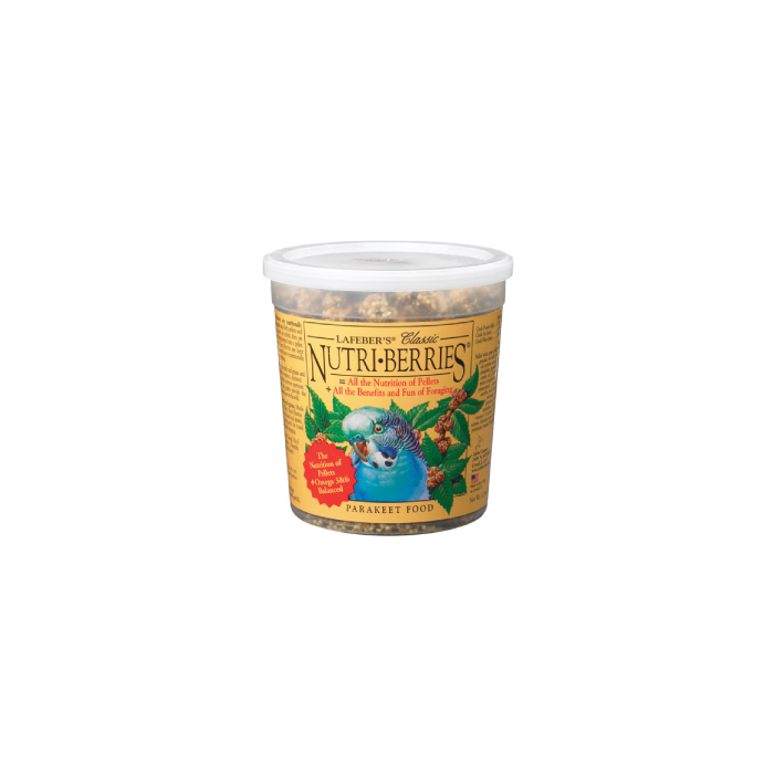 Lafeber's 4# Nuti-Berries Parakeet Bird Food