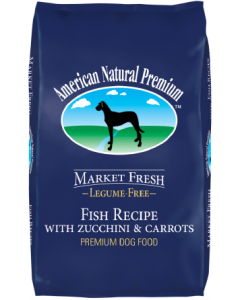 American Natural Premium Dry Fish Zucchini & Carrot Dog Food 30lb