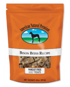 American Natural Premium Bison Bite Dog Treats 20oz