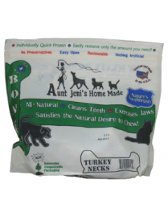 Aunt Jeni's Turkey Necks 2lb