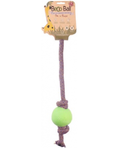 Beco Rope with Ball Large Green