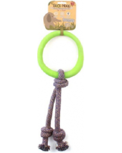 Beco Hoop On A Rope Large Green