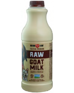 32oz Boss Dog Raw Goat Milk