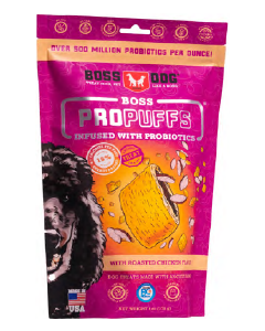 Boss Dog Propuffs Roasted Chicken Dog Treat 6oz