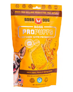 Boss Dog Propuffs Peanut Butter Dog Treat 6oz