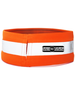 Corky's Reflective Wear Medium Orange Dog Overcollar