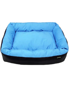 Cycle Dog USA Made Waterproof Barrior Layout Bed Blue Large 23x36