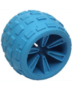 Cycle Dog USA Made Made Roller Plus Blue Large Dog Toy