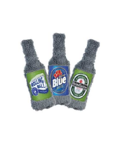 Cycle Dog USA Made BrewGear Assorted Beer Bottle Dog Toy