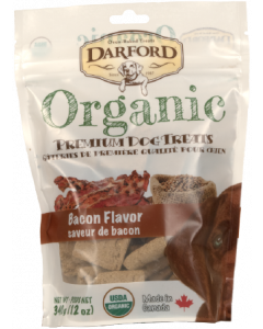 Darford 12oz. Organic Bacon Dog Treat