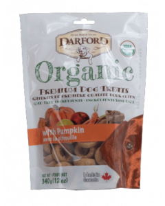 Darford 12oz. Organic Pumpkin Dog Treat