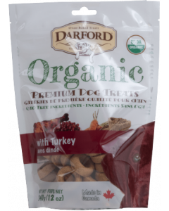 Darford Organic Turkey Dog Treat 12oz