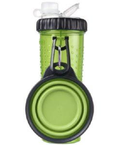 Dexas Snack DuO With Companion Cup Green