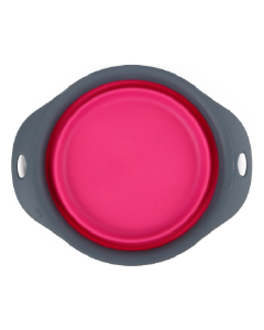 Dexas 6 Cup Collapsible Pet Bowl Pink