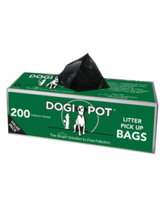 Dogipot 200 Count Litter Biodegradable Poop Bags