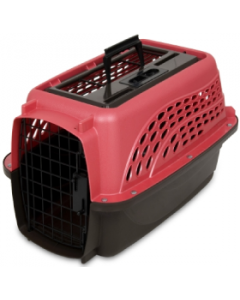 "Doskocil 19"" Two Door Rose & Coffee Kennel"