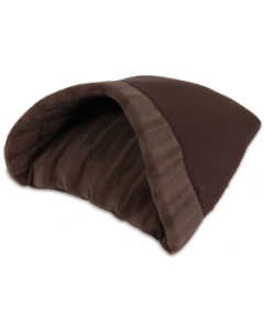 Doskocil 16x19 Chocolate Kitty Cave Cat Bed