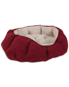 Doskocil 27x34 Overstuffed Oval Dog Bed