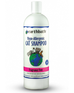 Earthbath 16oz Cat Hypo Allergenic Shampoo