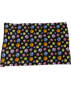 Ethical Pet 40x60 Snuggler Paw Prints Blanket Dog Bed