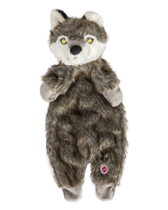 "Ethical Pet 20"" Furzz Wolf Dog Toy"