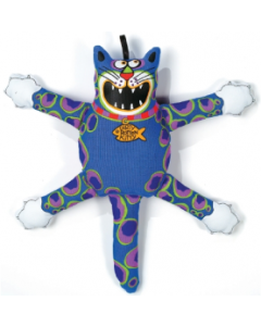 Fat Cat Medium Really Bad Kitty Dog Toy