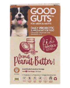 Good Guts For Medium Mutts Daily Probiotic Supplement