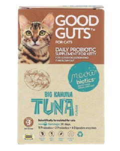 Good Guts For Cats Daily Probiotic Supplement