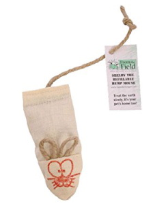 From The Field Shelby Mouse Refillable Catnip Toy Cat Toy