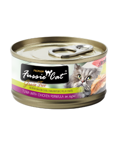 Fussie Cat Tuna with Chicken Can Cat Food 2.82oz
