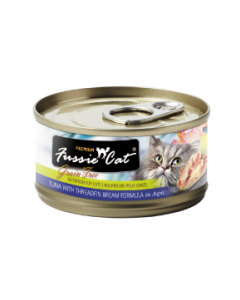 Fussie Cat Tuna with Threadfin Can Cat Food 2.82oz