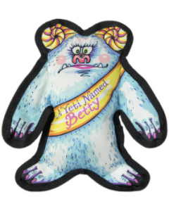 Fuzzu A Yeti Named Betty Wild Woodies Dog Toy