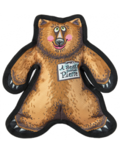 Fuzzu A Pierre The Bear Wild Woodies Dog Toy