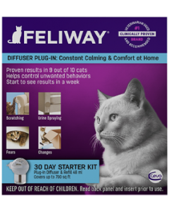 H&C Animal Health Feliway Classic Starter Kit