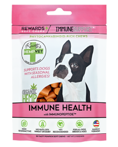 Reilly's Hempvet Immunity Reward + 30 Count Seasonal Allergy Irritation Support