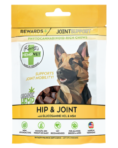 Reilly's Hempvet Joint Rewards + 30 Count Joint & Mobility Suport
