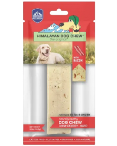 Large 1 pack Himalayan Bacon Dog Chew