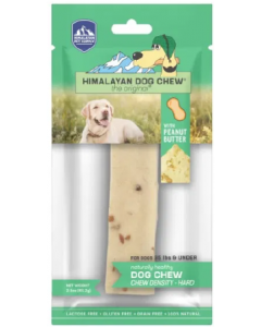 Medium 1 pack Himalayan Peanut Butter Dog Chew