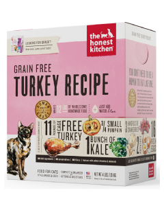 2# Honest Kitchen Grace Grain Free Turkey Cat
