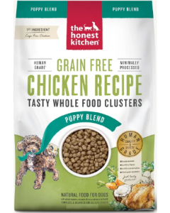 4# Honest Kitchen Whole Food Clusters Puppy Grain Free Chicken