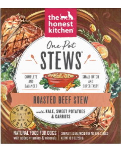 10.5oz Honest Kitchen One Pot Stew Beef Stew Kale, Sweet Potato, Carrots