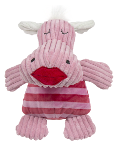 Huggle Hound Large Vanentine Hippo Dog Toy