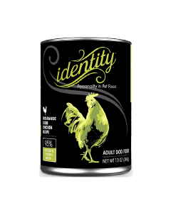13oz Identity 95% Cage-Free Cobb Chicken Canned Dog Food