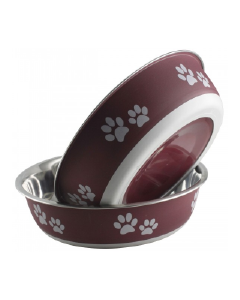 Buster Bowls By Indipets Merlot 17 cm Medium