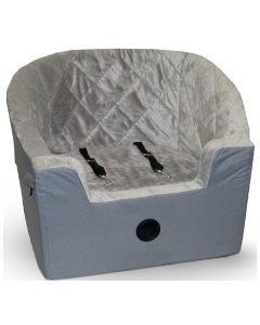K&H Large Bucket Seat Booster Gray