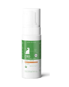 8oz Kin-Kind CBD Foam Bergamot Lime