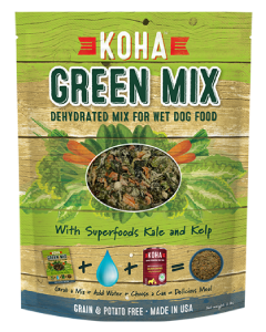 Koha Dehydrated Green Mix for Dogs Food 2lb
