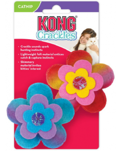 Kong CRCL45 Crackles Bloomz 2-pk