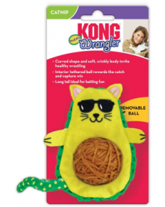 Kong CA462 Wrangler AvoCATo Cat Toy