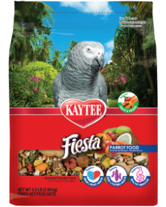 4.5# Kaytee Foods Fiesta Parrot Bird Food